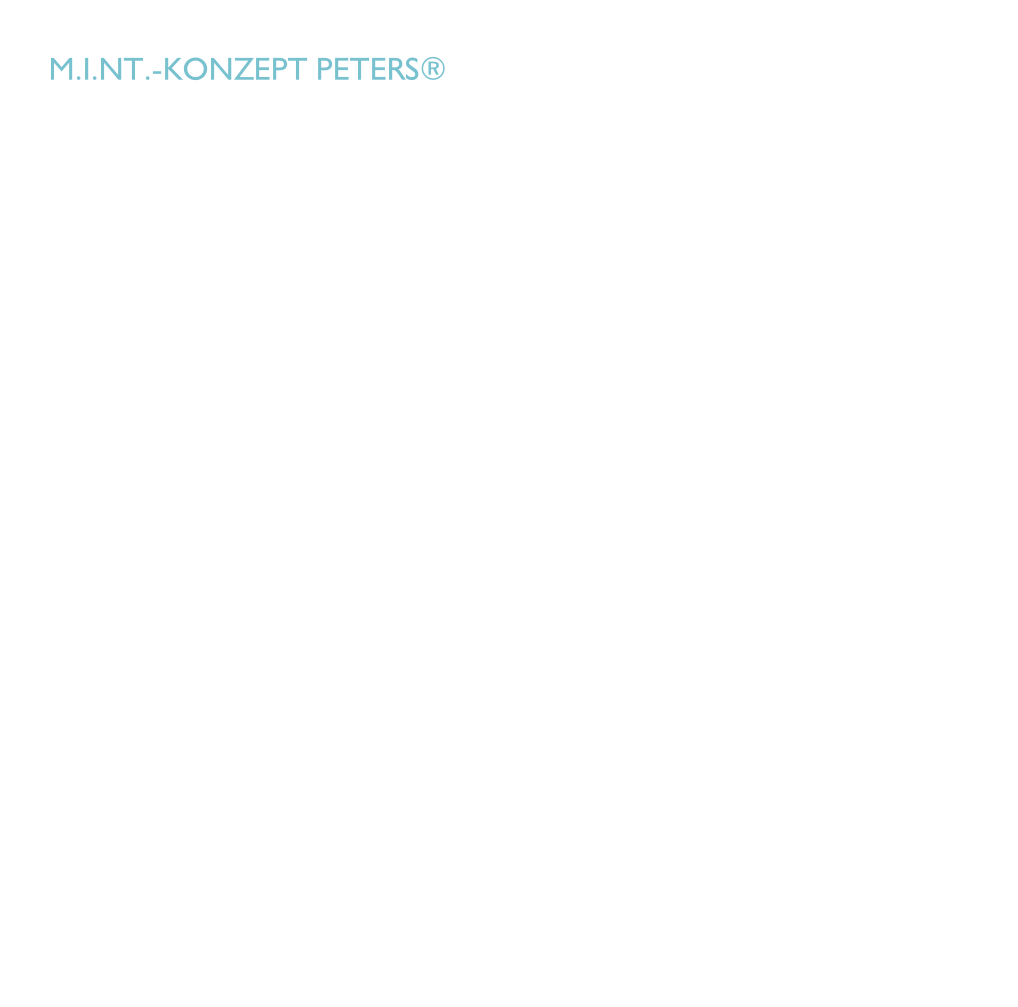 M.i.nt.-Konzept peters®